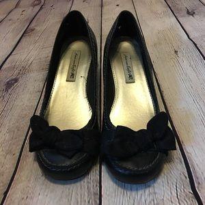 Black American Eagle Heels Size 6